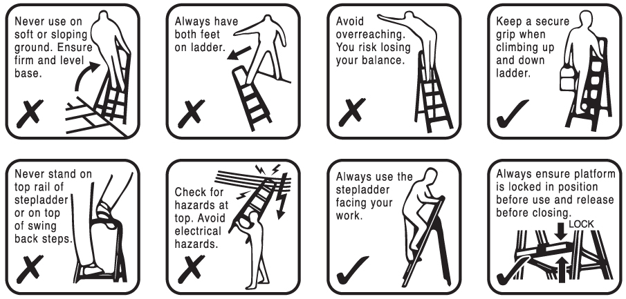 Hakachi Ladder Safety